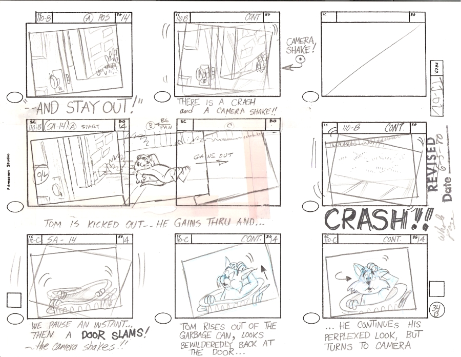 Storyboard Template  Storyboard Artists