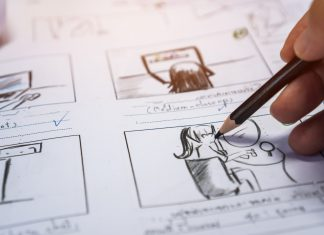 story board drawing